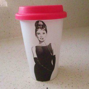 Audrey Hepburn Breakfast at Tiffany's Tumbler